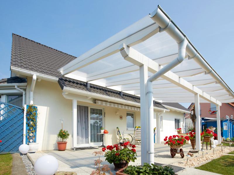 Terrassenüberdachung – selber bauen – Zuschke ...